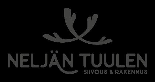 Neljän tuulen siivous ja rakennus - Logo